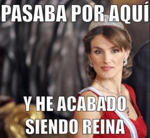 Meme Reina Letizia