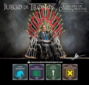 Juego de Tronos Juan Carlos