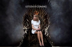 Letizia is coming