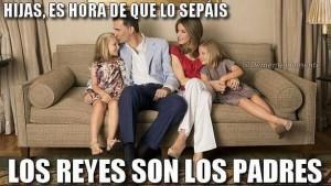 Los Reyes son los padres