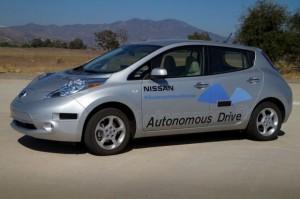 nissan leaf experimental con conducción automática para 2020